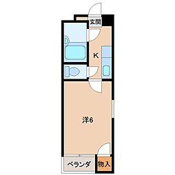 レジデンスウイング[3階]の間取り