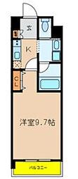 サプール津田沼[212号室]の間取り