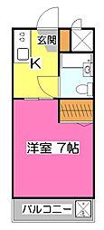 煉瓦館61[1階]の間取り