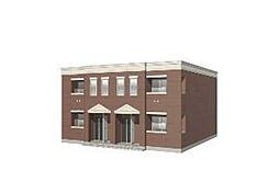 (仮)天理市東井戸堂町新築アパート[2階]の外観