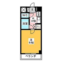笠寺ハウス[3階]の間取り