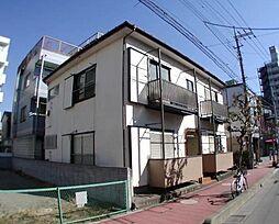 埼玉県蕨市南町3丁目の賃貸アパートの外観