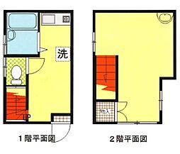 [一戸建] 神奈川県横浜市中区赤門町1丁目 の賃貸【/】の間取り