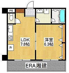YOKOHAMA FIZZ[303号室]の間取り