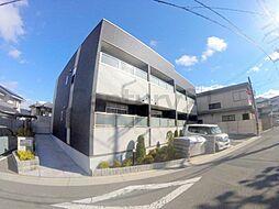 兵庫県川西市日高町の賃貸アパートの外観