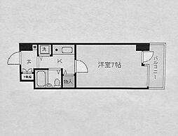 ピュアシティ横浜[5階]の間取り