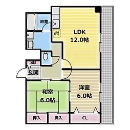 アプローズI[2階]の間取り