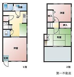 [一戸建] 兵庫県西脇市西脇 の賃貸【/】の間取り