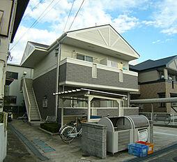 兵庫県川西市下加茂1丁目の賃貸アパートの外観