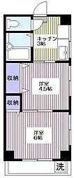 マコト第一ビル[3階]の間取り