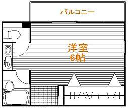 東京都足立区興野1丁目の賃貸マンションの間取り
