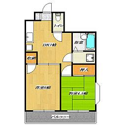 Parushiti Oikawa[2階]の間取り