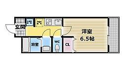 フィオレ源氏ヶ丘[1階]の間取り