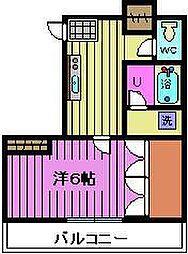 埼玉県さいたま市桜区大字田島3丁目の賃貸マンションの間取り
