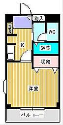 ニューマリッチSK[2階]の間取り