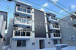 北海道札幌市白石区中央二条7丁目の賃貸マンションの外観