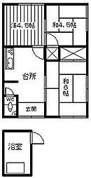 [一戸建] 宮崎県延岡市塩浜町3丁目 の賃貸【/】の間取り