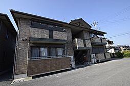 栃木県宇都宮市雀の宮3丁目の賃貸アパートの外観