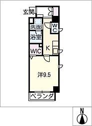 アーバンライフ名駅ウエスト[6階]の間取り