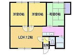 リヴィエール412A[3階]の外観
