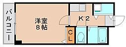 フォーラム箱崎[3階]の間取り