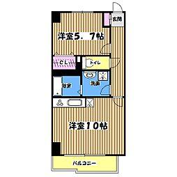 コロッサル六地蔵[5階]の間取り