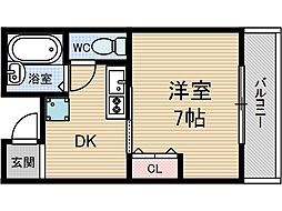 プリマヴェーラ1[1階]の間取り