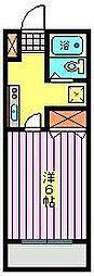 ユア・ハウス[1階]の間取り