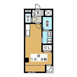 ノーブルコート台原[1階]の間取り