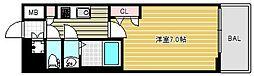 ファーストステージ江戸堀パークサイド[13階]の間取り