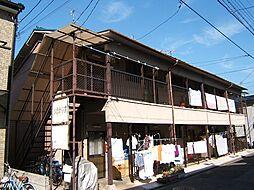 京都府京都市伏見区深草越後屋敷町の賃貸アパートの外観