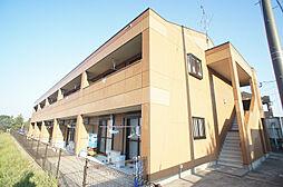 福岡県古賀市薦野の賃貸アパートの外観