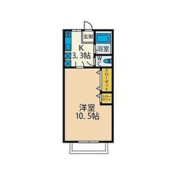 本厚木Solamachi IIDA5[2階]の間取り