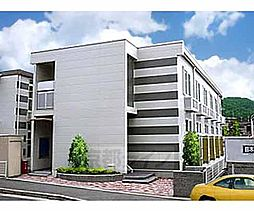 京都府京都市北区西賀茂大道口町の賃貸アパートの外観