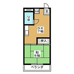 サンシャイン21[3階]の間取り