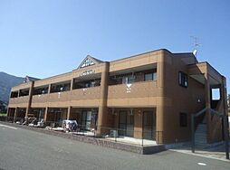福岡県飯塚市椿の賃貸アパートの外観