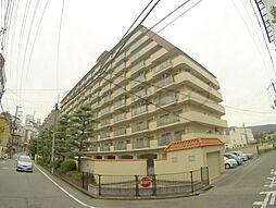 兵庫県宝塚市湯本町の賃貸マンションの外観