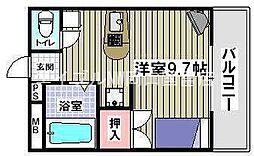 アートタウン[6階]の間取り