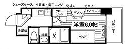 (仮称)UniLife豊津駅前学生会館[食事付き] 1階1Kの間取り