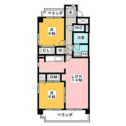ETERNAL[3階]の間取り
