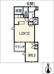Maison Vert上小田井[3階]の間取り