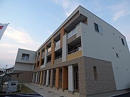 兵庫県明石市二見町西二見の賃貸アパートの外観