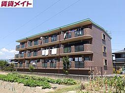 三重県亀山市田村町の賃貸マンションの外観