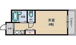 グレイスハイツ北大阪[1階]の間取り