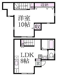 [テラスハウス] 東京都杉並区成田東1丁目 の賃貸【/】の間取り