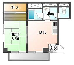 加瀬ビル[3階]の間取り