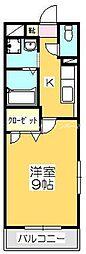 マリベール松並S[3階]の間取り