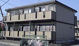 栃木県宇都宮市山本2丁目の賃貸アパートの外観