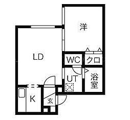 パインテール[2階]の間取り
