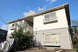 京都府京都市山科区北花山寺内町の賃貸アパートの外観